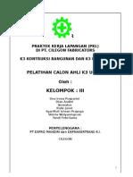 Laporan Pkl Kelompok 3 k3 Mekanik Edit