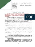 20150211. Ý Kiến Về Đề Xuất Của Cty Cacbon VN Về Việc Dùng CA Cho QL1