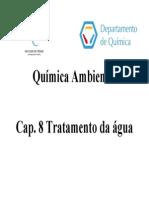 Quimica Ambiental - Tratamento de Agua