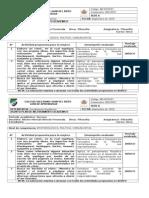 Plan de Mejoramiento - Filosofía 11 - 3 Período 2015