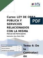 Manual Del Participante Curso de Obra Curso