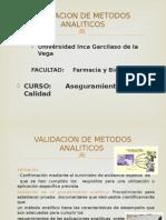 Validacion de Metodos Analiticos