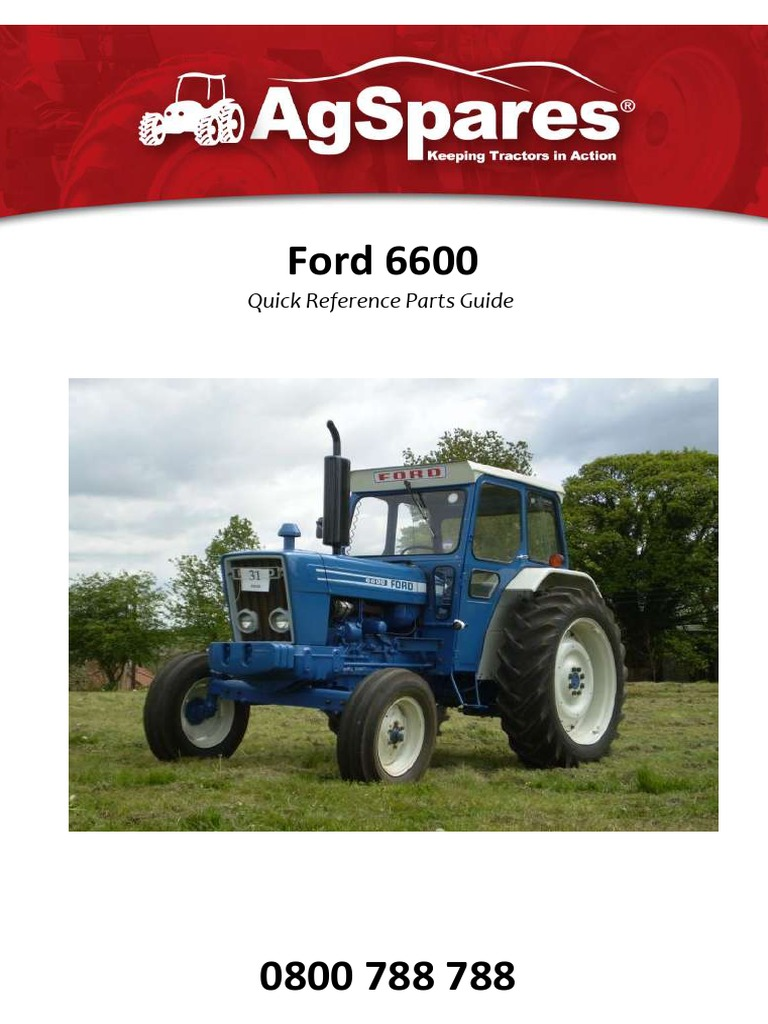 Ford 6600 Parts Catalogue