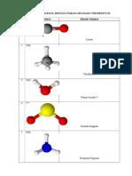 Bentuk Molekul Menggunakan Aplikasi Chemsketch