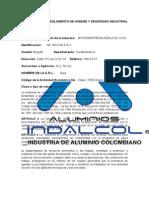 Reglamento de Higiene y Seguridad Industrial INDALCOL S.A.S.docx