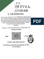 Arte de La Pintura - Francisco Pacheco (Livro Completo) 1649
