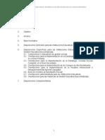 Normas y Orientaciones Del Año Escolar 2015
