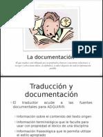 Documentación en traducción