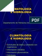 Climatología e Hidrología