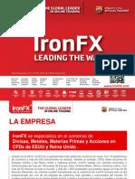 IronFX Forex Presentation 2014 Español