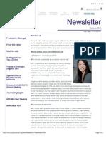 aps newsletter