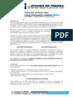 Informe primer año SIJ Digital
