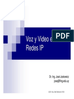 Voz Video y Telefonia Sobre IP