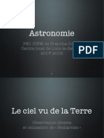astronomie diaporama