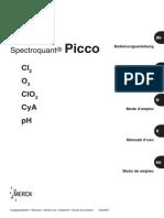 Manual Picco Colorimeter Cl2 O3