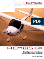 REMOS GX Pilot Operating Handbook r02 2009