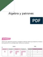Álgebra y Patrones sexto