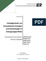 Verträglichkeit von Erneuerbaren Energien und Kernenergie