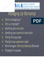 Managing Up PPT April 09