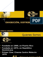Zumaya Cordero. Exhibición y Distribución de Cine