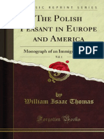 The Polish Peasant in Europe and America v1