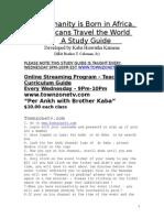 Africa Curriculum Guide