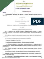 L13105 Novo Código Processo Civil