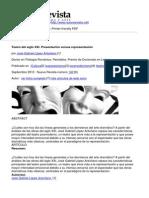 Nueva Revista - Teatro Del Siglo Xxi. Presentacion Versus Representacion