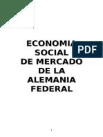 Economía Social de Mercado en Alemania Federal
