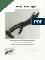 Daedric Dagger 30001