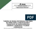 Número de Documento NRF-012-PEMEX-2009 21 de Julio