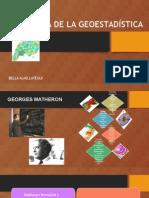 Historia de La Geoestadística - BA
