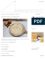 Receita de Apple Pie - Torta de Maçã - Inglês Gourmet