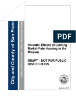 Office of Economic Analysis study on Mission market-rate housing moratorium