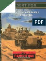 WD106 Flames of War - Desert Fox
