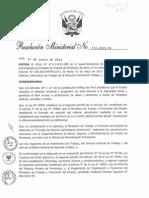 Elección de SPP - 2015