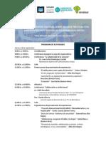 Programa - Segundo Encuentro MPSASVS - BAHIA BLANCA 2015
