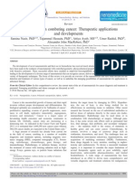 Nanomaterials in Combating Cancer-Therapeutic Applications