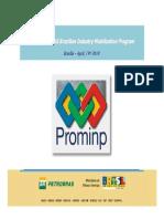 PROMINP O&G Brazilian Industry Mobilization Program