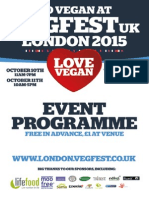 London Vegfest - Event Programme