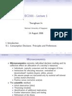 Lecture 1 Micro