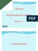 Matpel Nivel III - Tecnico Materiales Peligrosos Ed 2013
