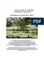 The History of the Corozal and Mount Hope Cemeteries Scribd
