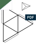 actividad plantilla poliedros
