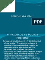 Derecho Registral Upci