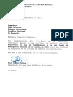 Ley de Reforma a Presupuesto General de La República 2015