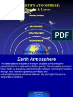 Environmental Impact-Earth Atmospheric Layers