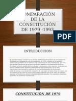 Comparación de La Constitución de 1979 -1993
