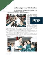 12.10.2013 Comunicado Durango Es Un Buen Lugar Para Vivir Esteban