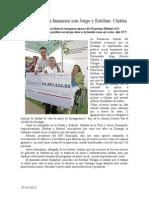 15.10.2013 Comunicado Gobiernos Más Humanos Con Jorge y Esteban Cáritas